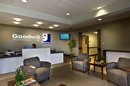 Goodwill Reception Area - About Us