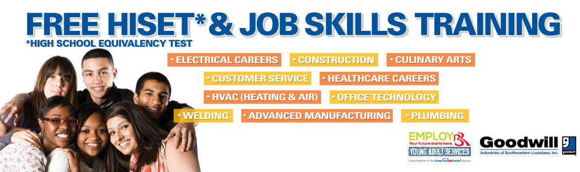 Free HiSET & Job Skills Training. High School Equivalency Test