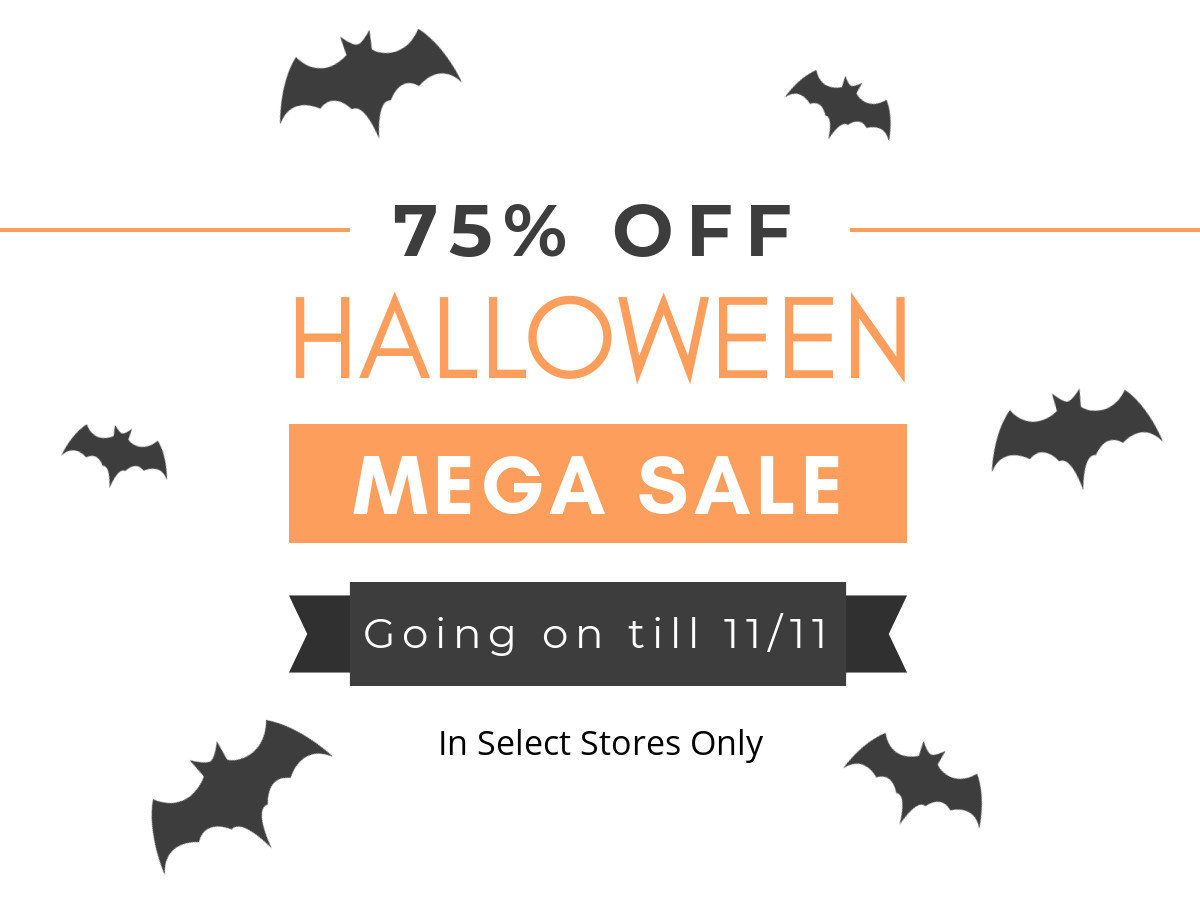 halloween 75% off sale - goodwill of southeastern louisiana